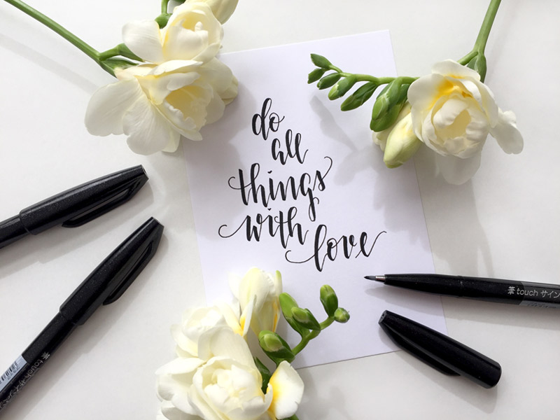 Fine calligraphy blog based in Berlin, Germany