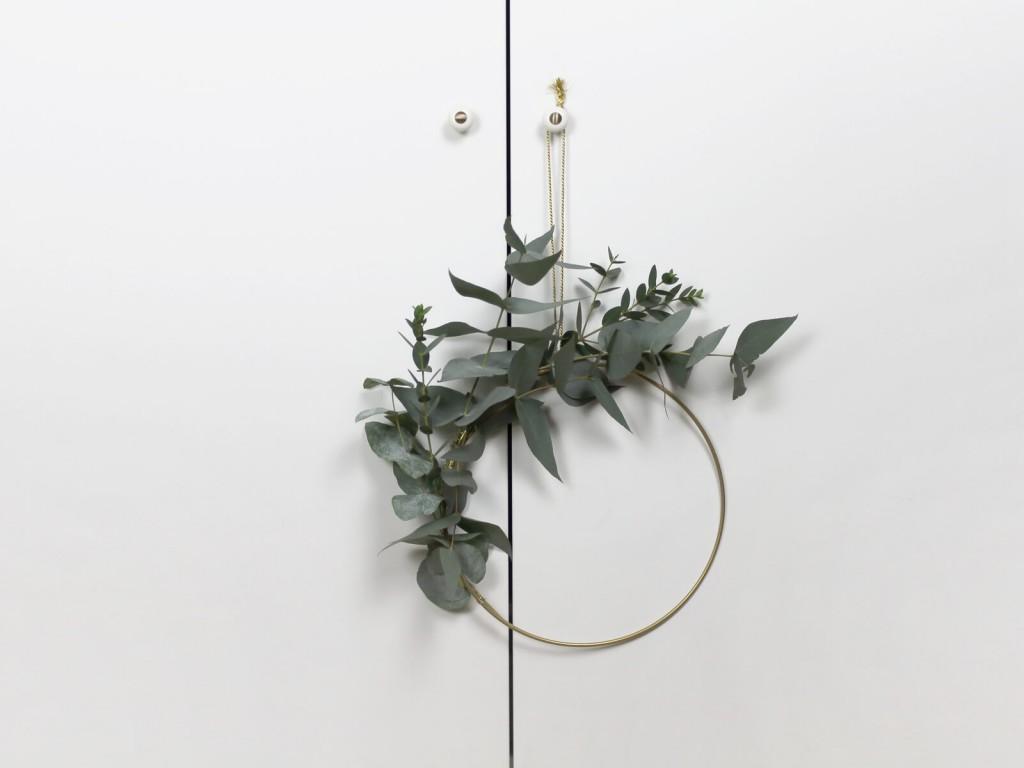 Eukalyptus-Kranz-DIY-Dekoration