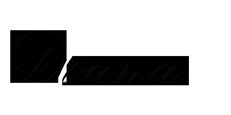 Berlin-Kalligraphie Signatur von Diana